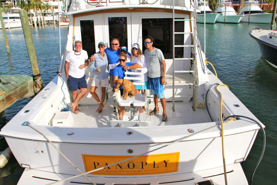 Panoply turks caicos sport fishing luxury yacht for Turks and caicos fishing charters