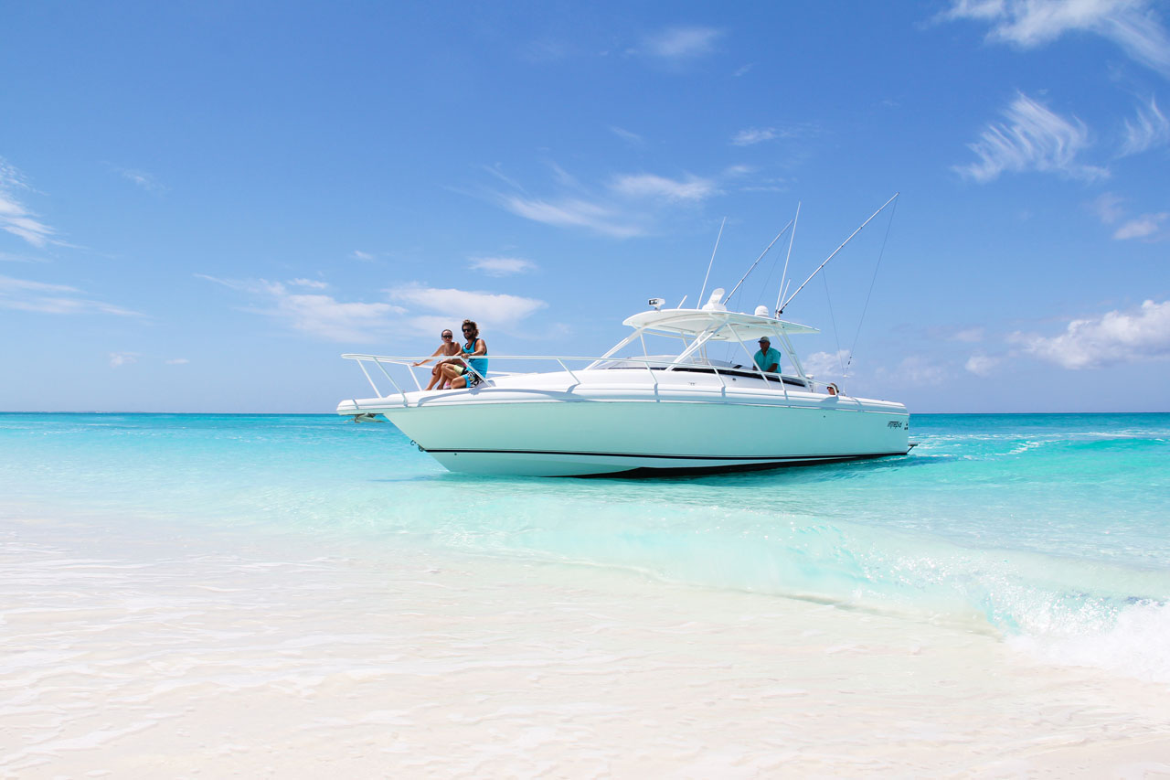 Due West, bottom fishing and custom family boat charters in Turks and Caicos.