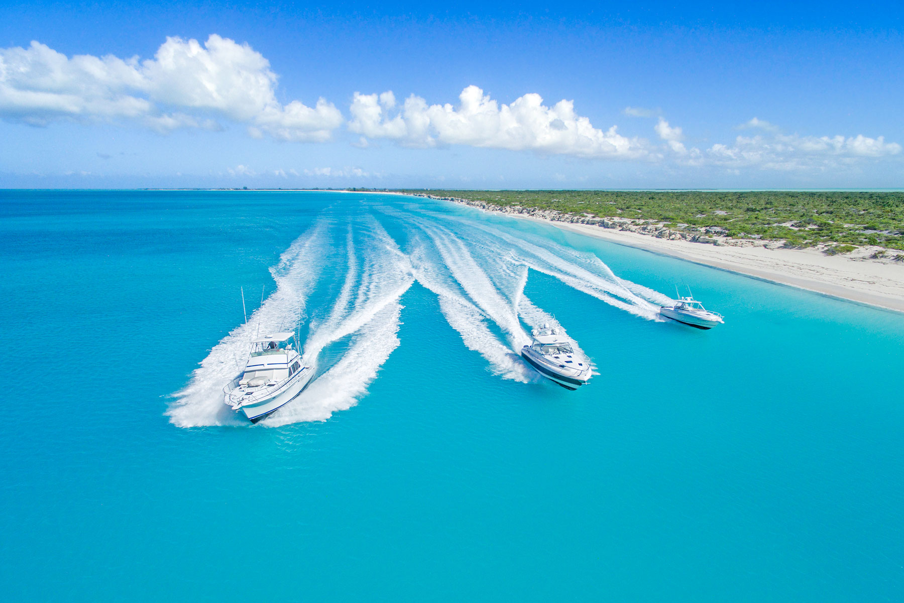 Sport fishing and luxury yacht charters in Turks and Caicos