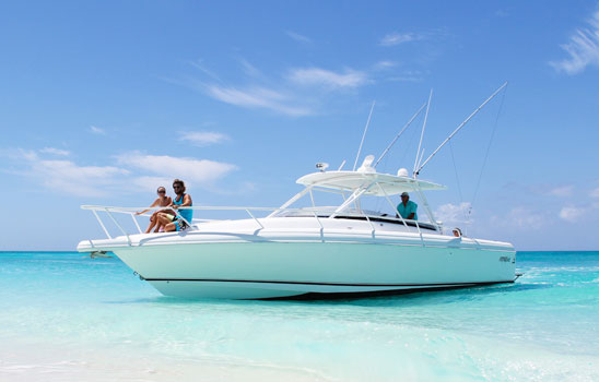 Due West, bottom fishing and custom family boat tours in Turks and Caicos.
